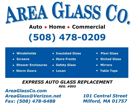 Area Glass Co. 508-478-0209