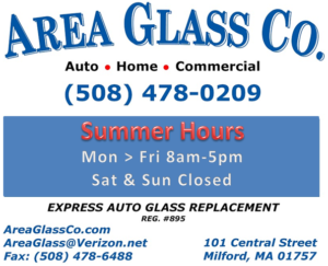 Area Glass Co. Summer Hours